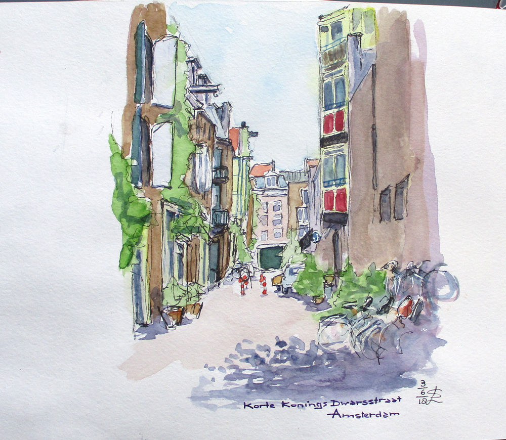 06/2018/ korte koningdwarsstraat Amsterdam