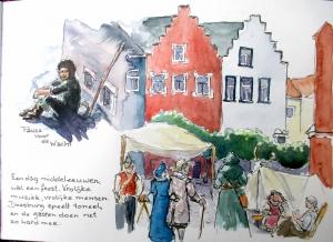 Schetsboekpagina's
