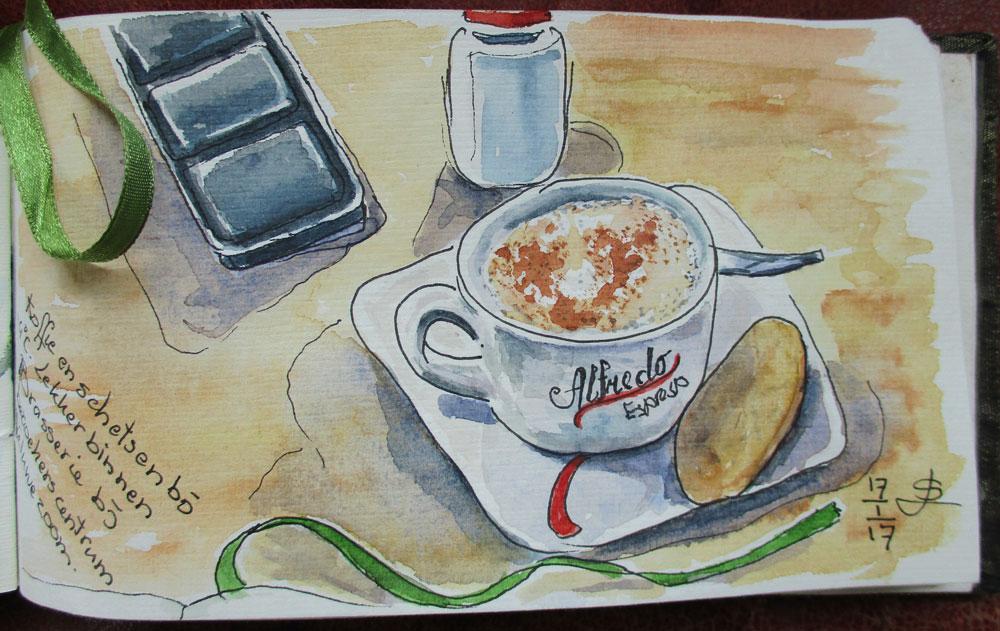 Brasserie de veluwezoom cappuccino
